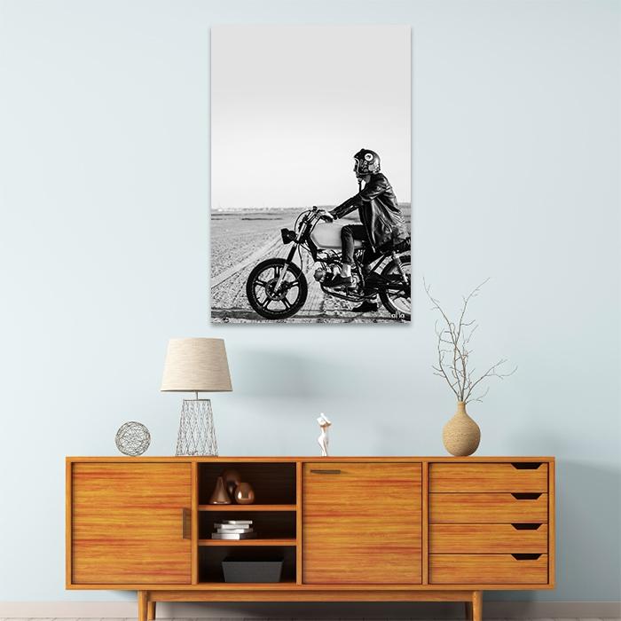 Tranh Canvas Biker Alila