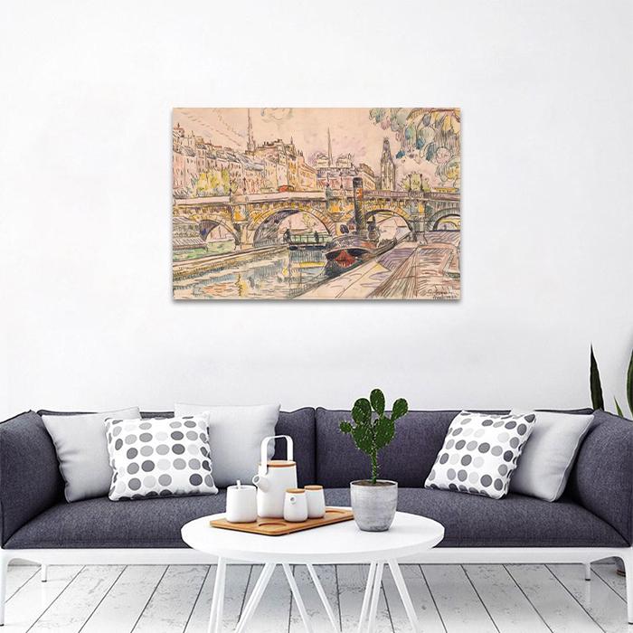 Tranh Canvas Dòng Sông Alila
