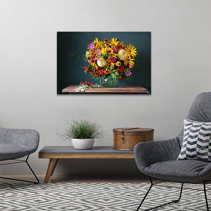 Tranh Canvas Lọ Hoa Alila