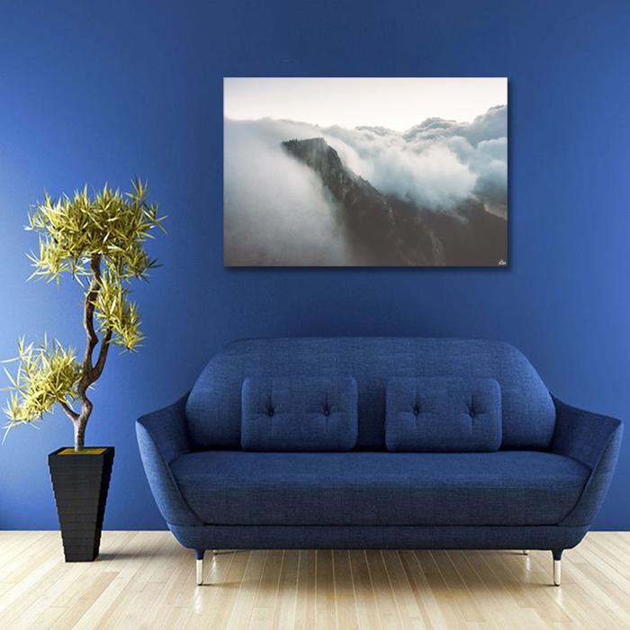 Tranh Canvas Mây Trắng Trên Núi Alila