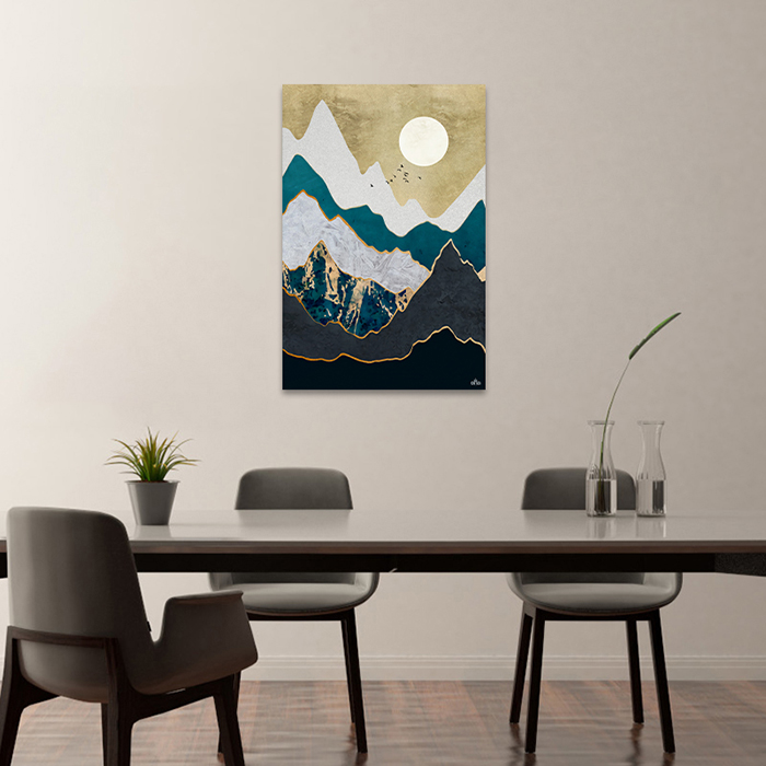 Tranh Canvas Mountain Abstract Alila