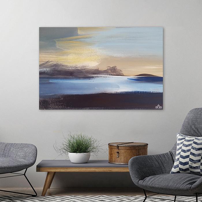 Tranh Canvas Ocean Abstract Alila