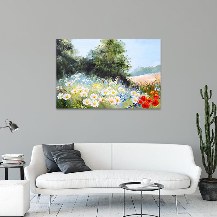 Tranh Canvas Vườn Hoa Trong Nắng Alila