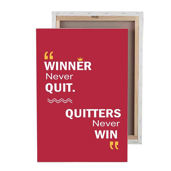 Tranh Winner Never Quit