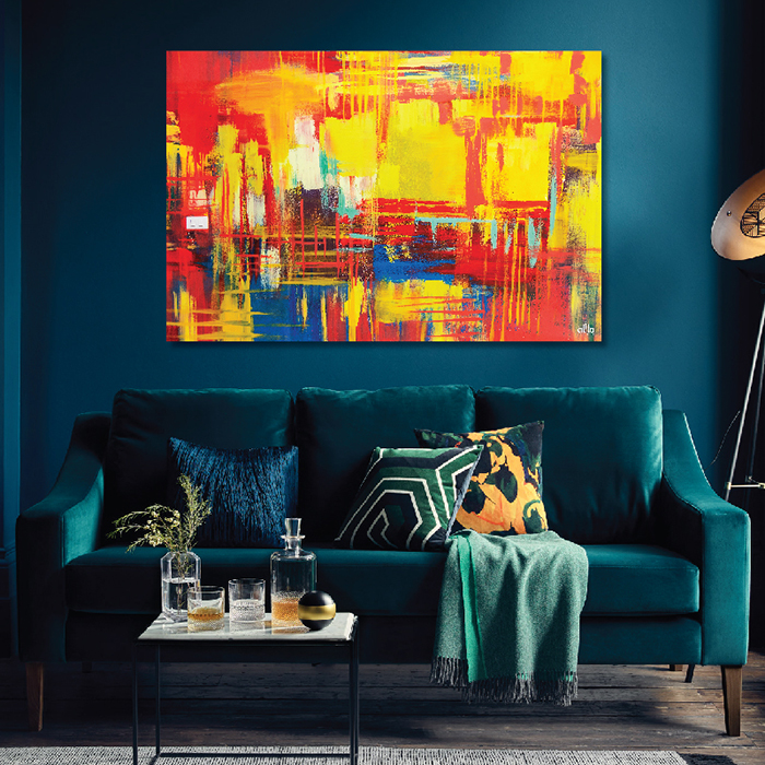 Tranh Canvas Colorful Abstract 03 Alila