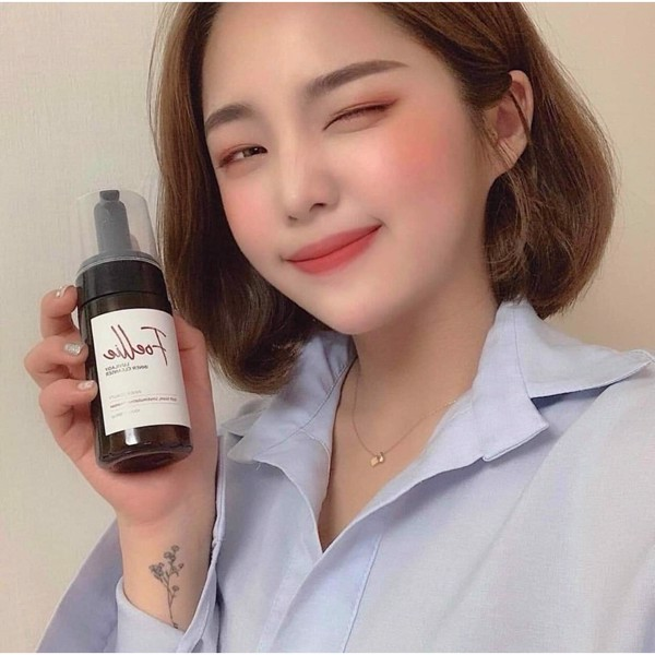 Dung dịch vệ sinh phụ nữ dạng bot Foellie Luvilady Inner Cleanser 100m –  Juka Beauty