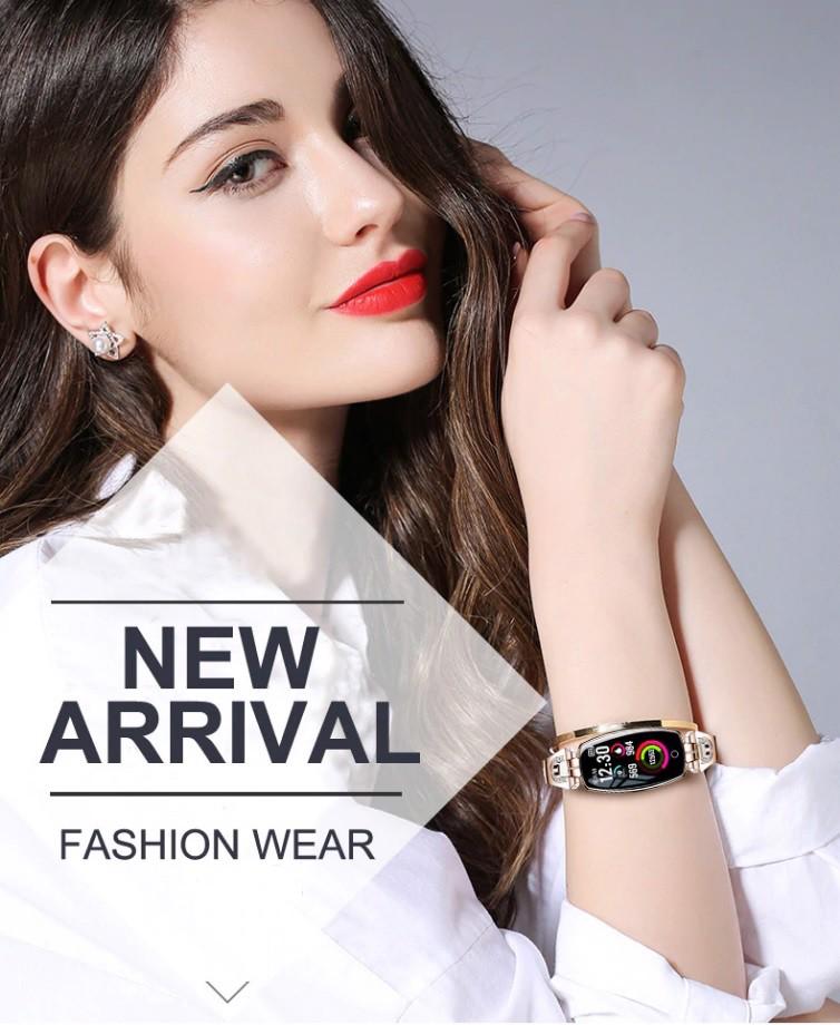 Đồng hồ thông minh Tuxedo SW8,sang trọng,hiện đại, nữ tính,thông minh.