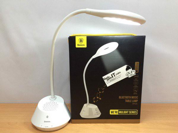 Đèn bàn cảm ứng tích hợp loa không dây NFC - Bluetooth Baseus A105