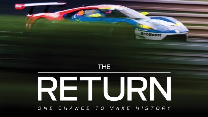 Ford GT 2017 in The Return Movie