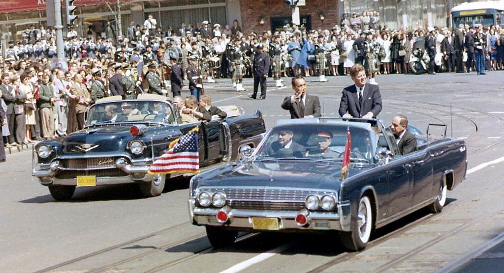 Lincoln X-100 Kennedy Car 1961