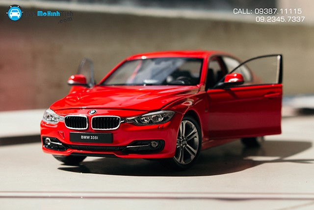 Mô hình xe BMW 335i 1:24 Welly