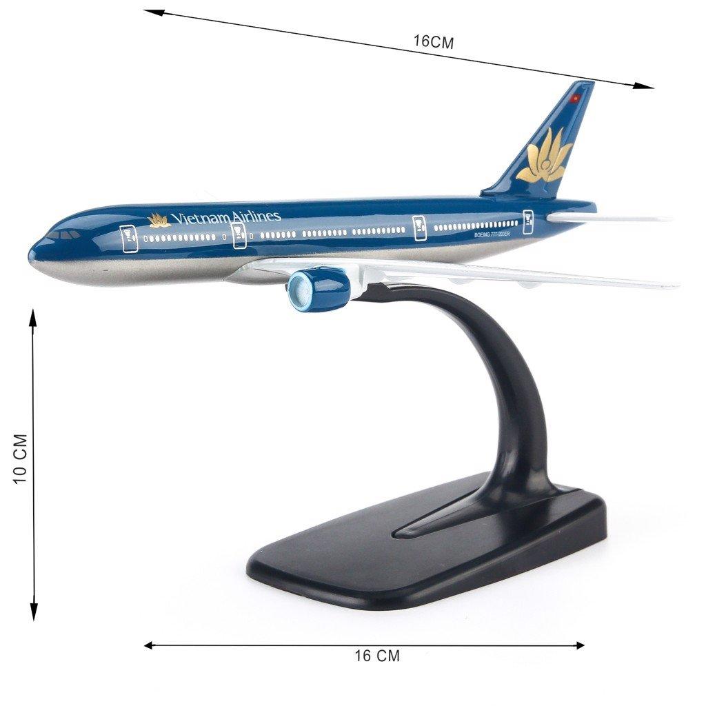 Mô hình máy bay Vietnam Airlines 16cm Everfly