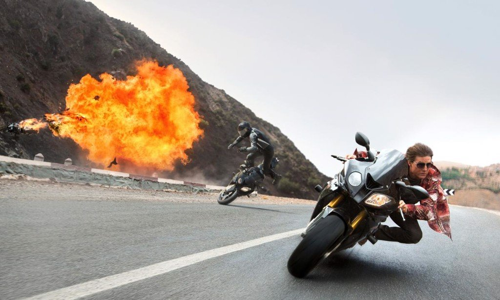 BMW S1000RR trong phim Mission: Impossible - Rogue Nation (2015)