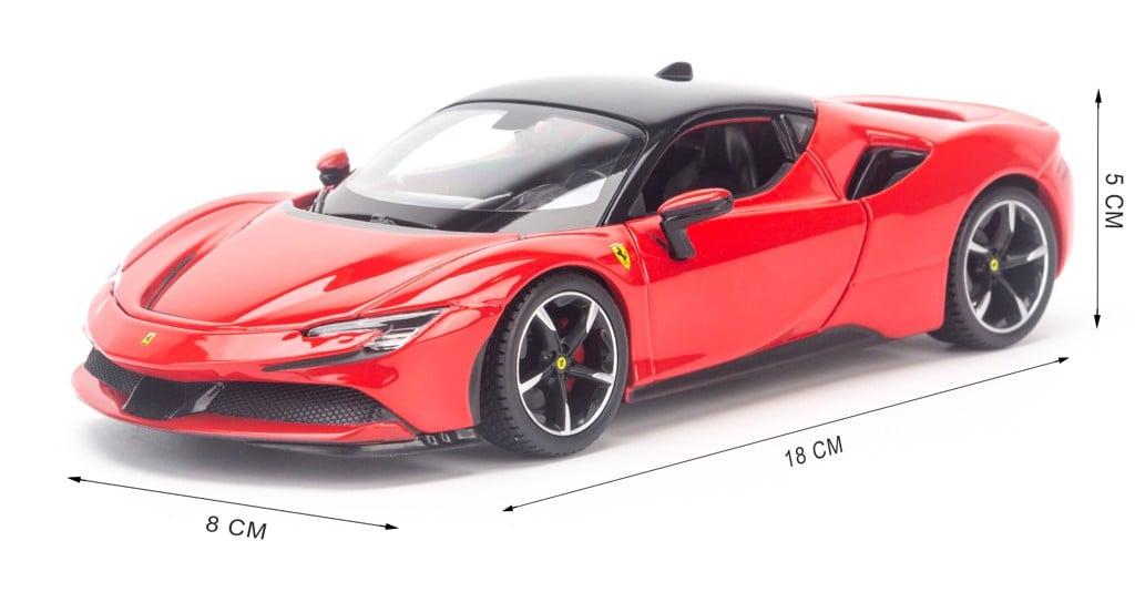 Mô hình xe Ferarri SF90 Stradale 1:24 Bburago 18-26028