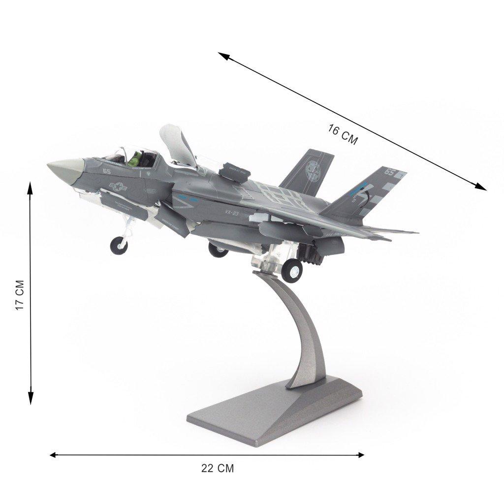Mô hình máy bay quân sự Lockheed Martin F-35B Lightning II US Marines 1:72