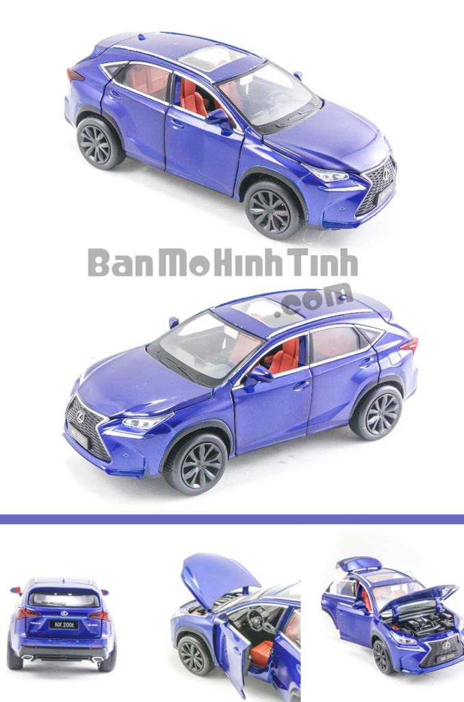 mô hình xe sang lexus nx200t 1:32 jackiekim