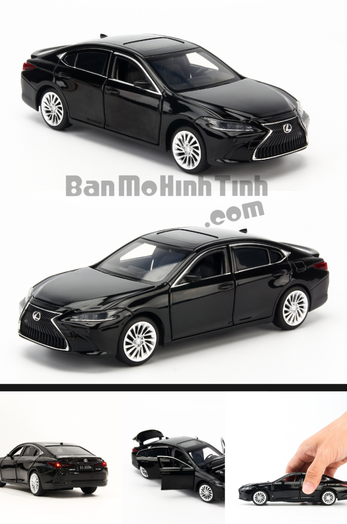 mô hình xe sang lexus es300h 1:32 jackiekim