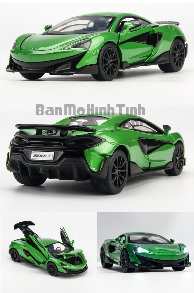 Mô hình xe McLaren 600LT Green 1:32 Jackiekim