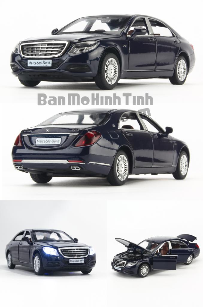 Mô hình xe Mercedes-Maybach S600 1:32 Uni