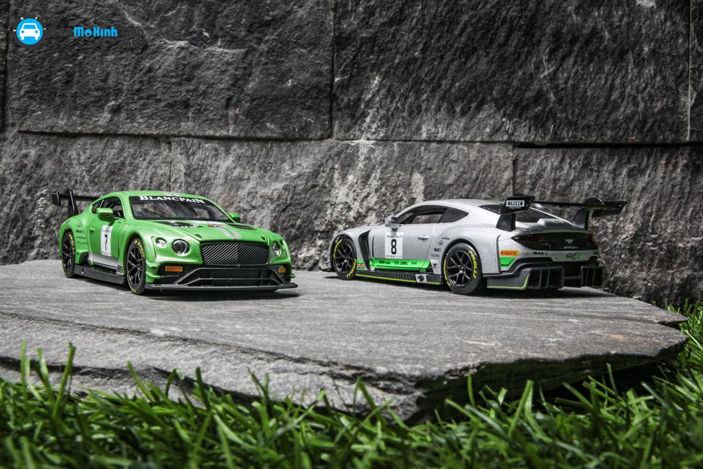 Mô hình xe Bentley Continental GT3 2019 1:32 UNI