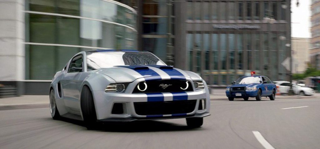 Ford Mustang Shelby GT500 Need For Speed