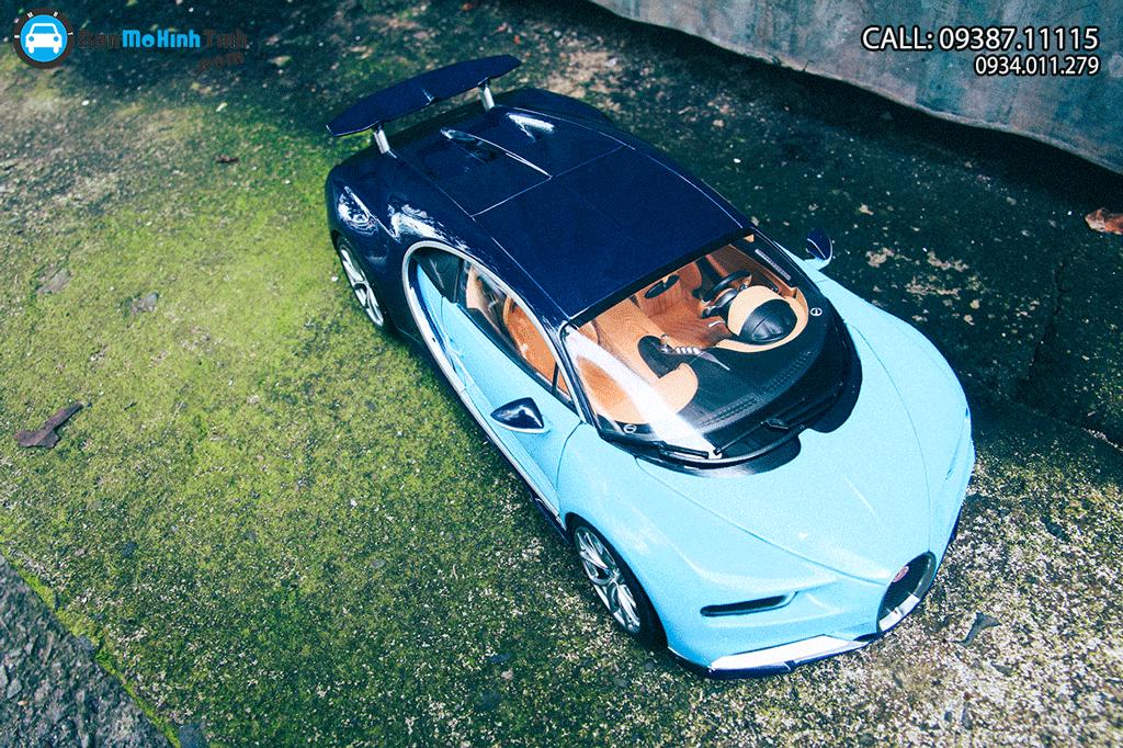 Mô hình xe Bugatti Chiron 1:18 GT AUTOS