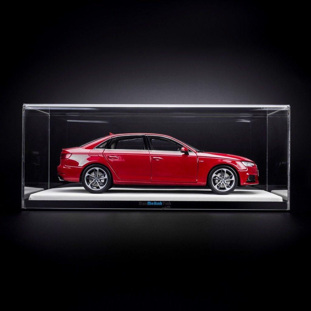 Bộ hộp và Đế trưng bày cao cấp 1:18 Sedan