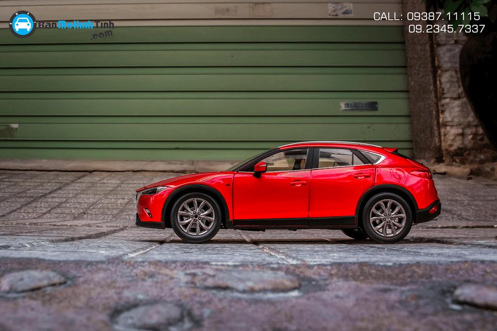 Mô hình xe Mazda CX-4 Red 1:18 Paudi
