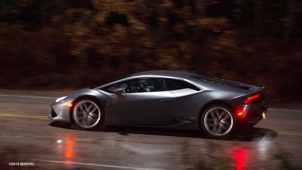 Lamborghini Huracan trong phim Doctor Strange