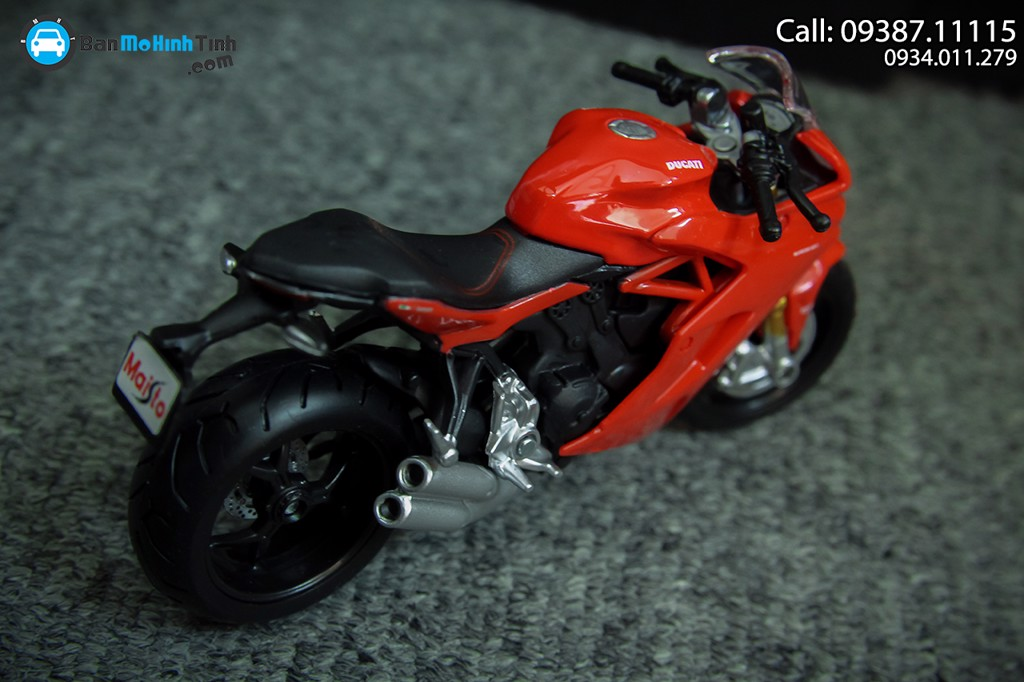 Mô hình xe mô tô Ducati Supersport S 1:18