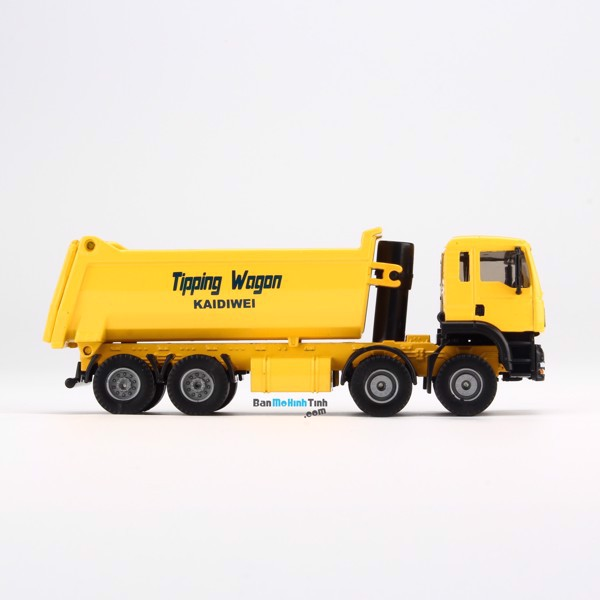 Mô hình xe Tải Vàng 1:50 KDW - 620008