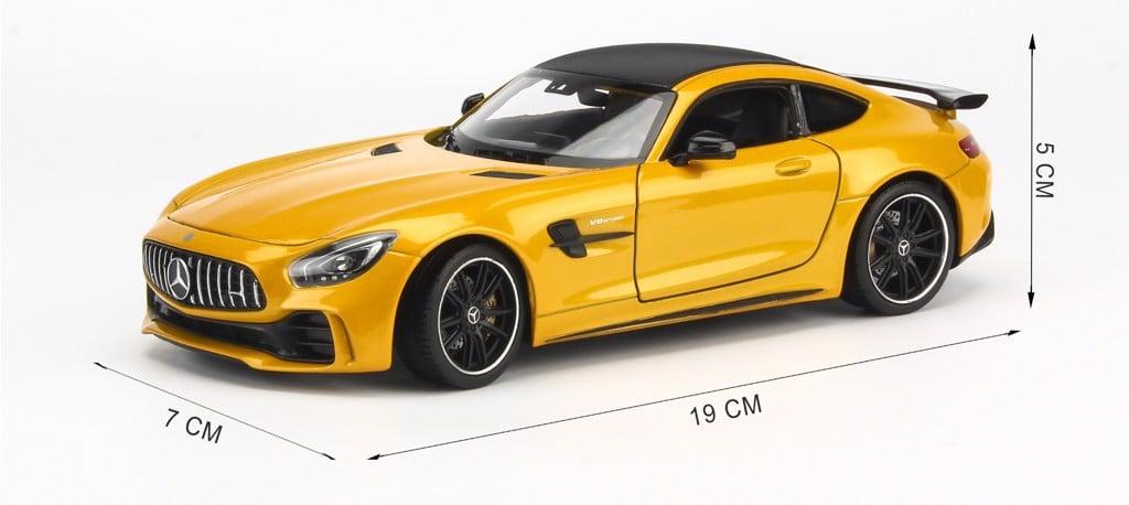 Mô hình xe Mercedes-AMG GT R 1:24 Welly