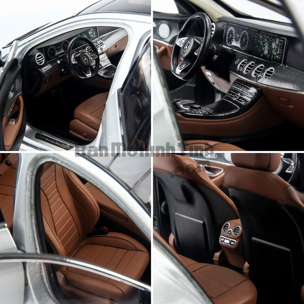 Mô hình xe Mercedes-Benz E300 AMG 1:18 Iscale