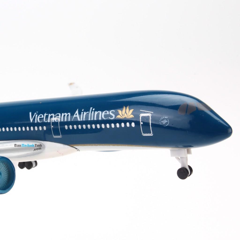 Mô hình máy bay A350 Vietnam Airlines V&G 74 20cm Everfly