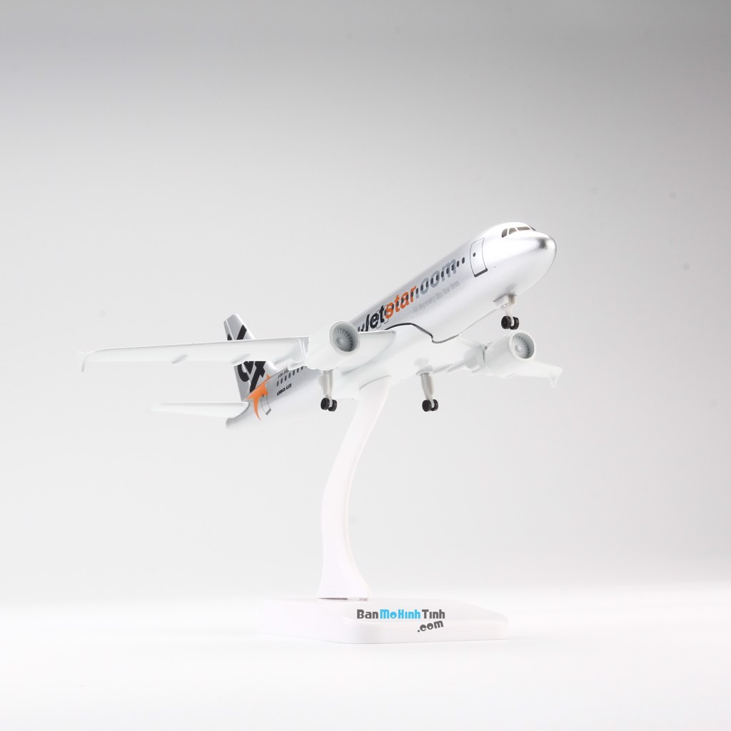 Mô hình máy bay Airbus A320 Jetstar V&G 71 20cm Everfly