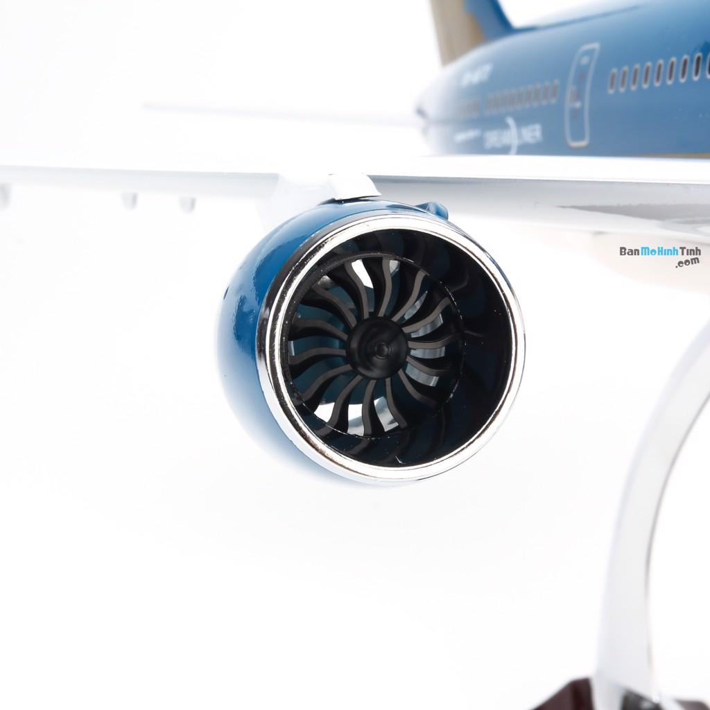 Mô hình máy bay Boeing 787 Vietnam Airlines V&G 90 47cm Everfly