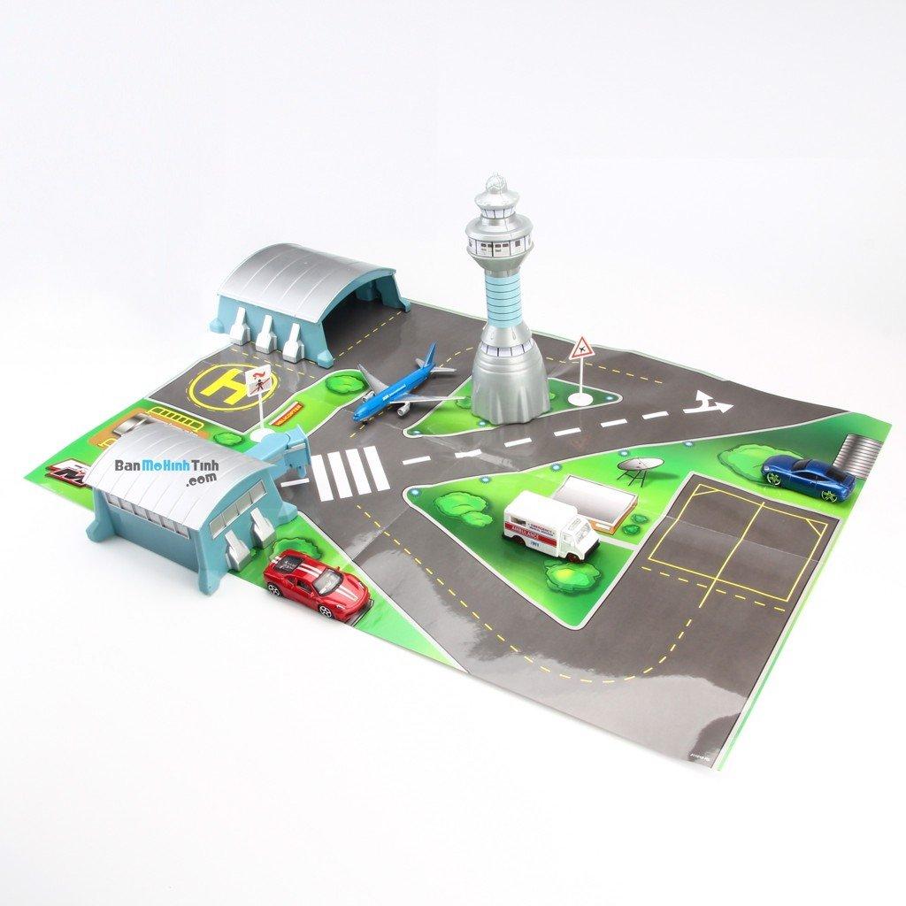 mô hình lắp ráp sân bay tailwind airport paper playset asst.1 maisto