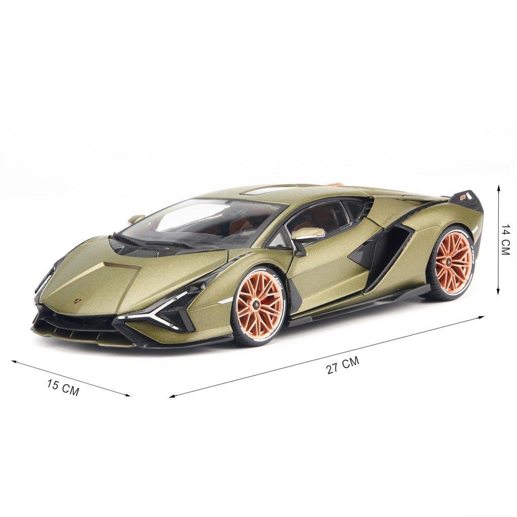 Mô hình xe Lamborghini Sián FK37 1:18 Bburago