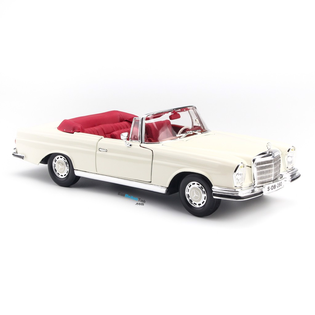 Mô hình xe Mercedes Benz 280SE 1967 - 1:18 Maisto - MH 31811