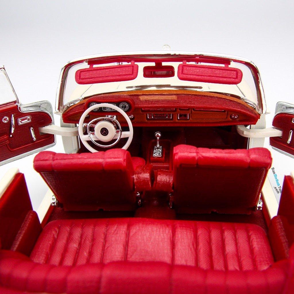 Mô hình xe Mercedes-Benz 280SE 1967 1:18 Maisto - MH 31811
