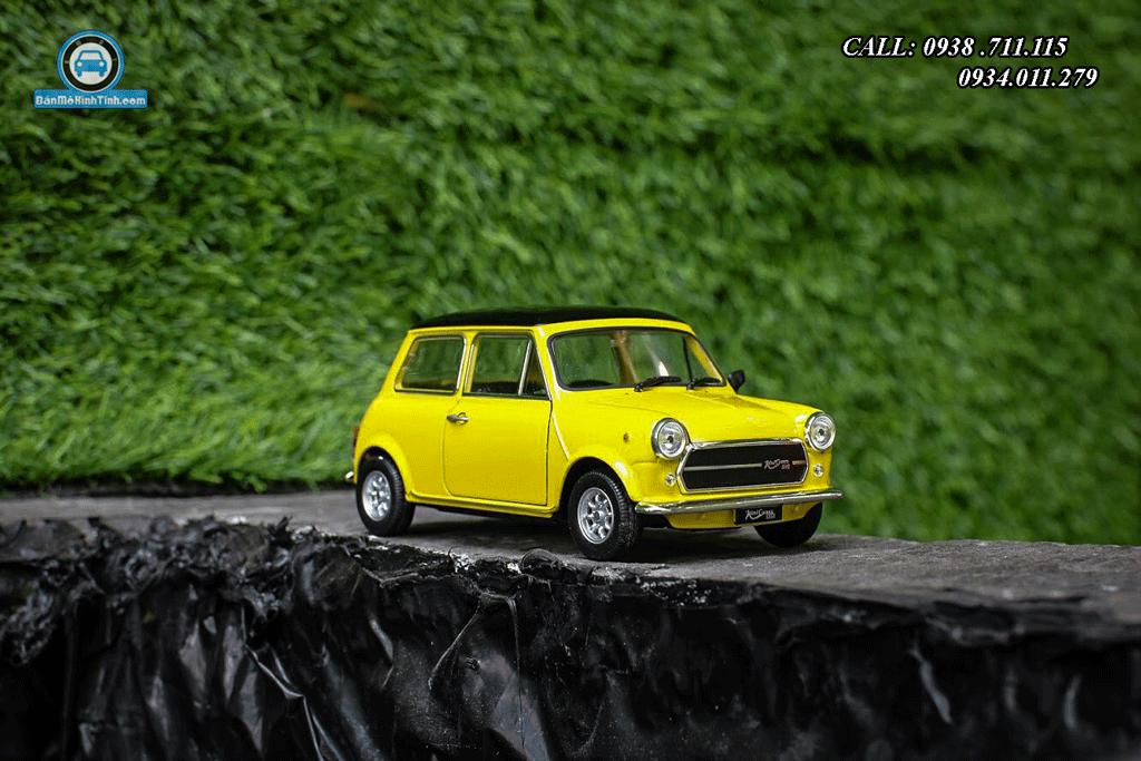 Mô hình xe Mini Cooper 1300 1:24 Welly
