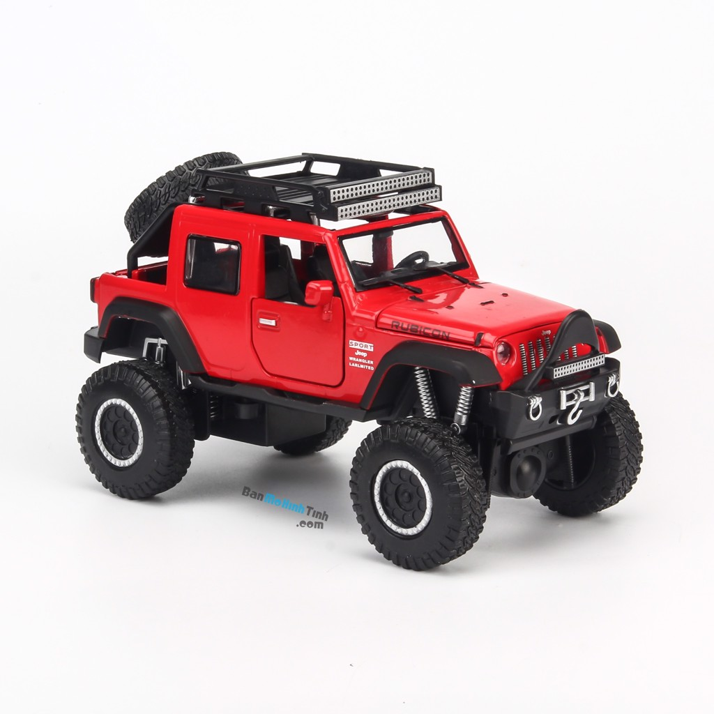 Mô hình xe Jeep Cross Country Red 1:32 Proswon