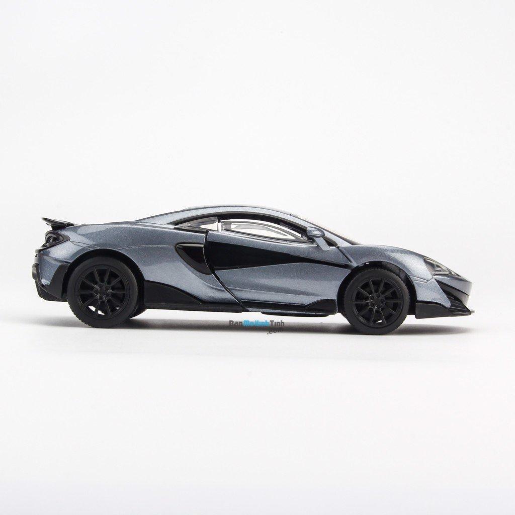 Mô hình xe McLaren 600LT Grey 1:32 Jackiekim