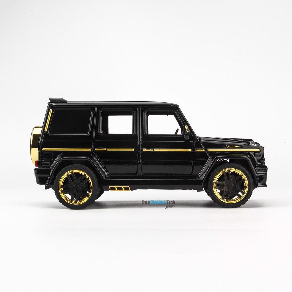 Mô hình xe Mercedes Benz G65 Brabus Black 1:24 XLG