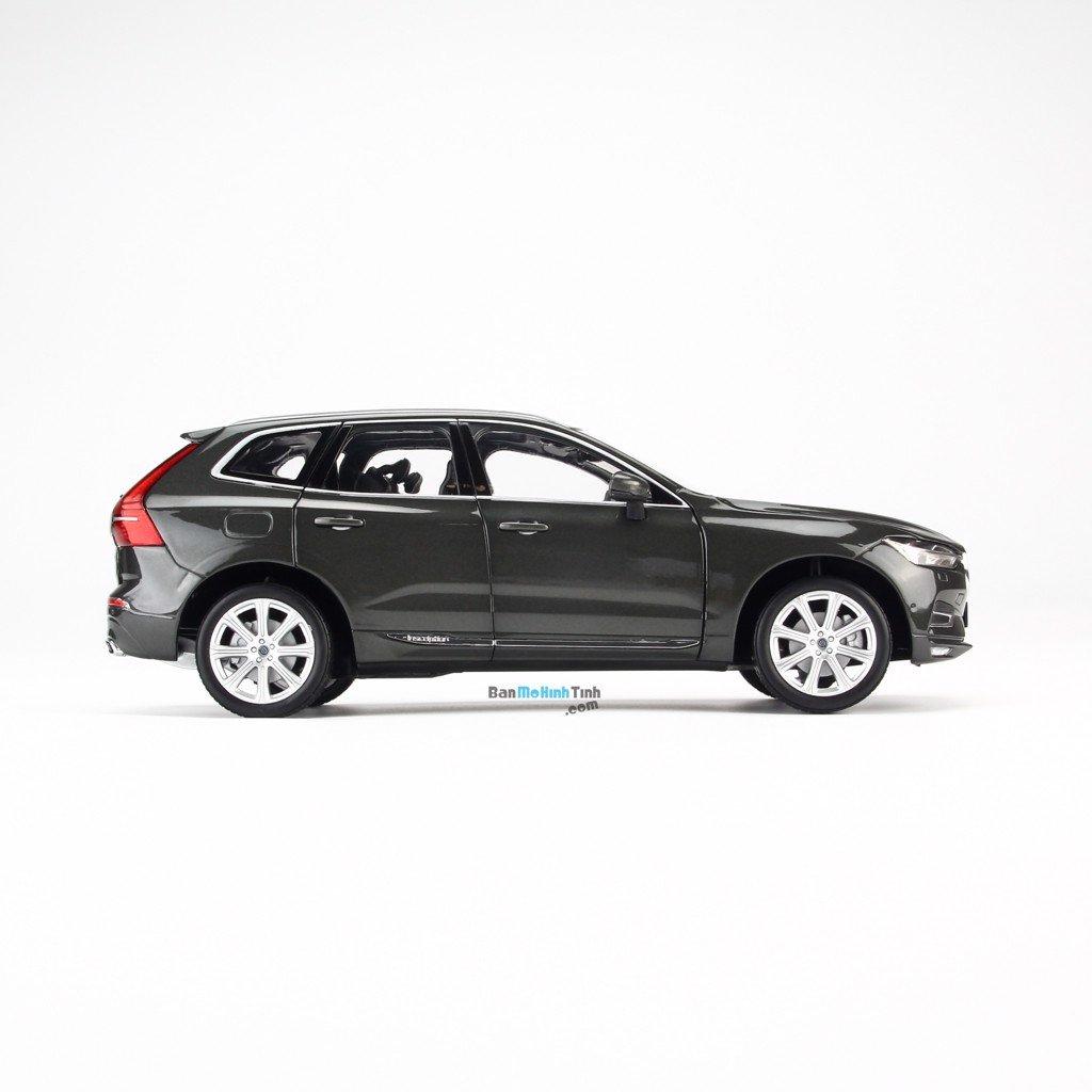 Mô hình xe Volvo XC60 Grey 1:18 Dealer