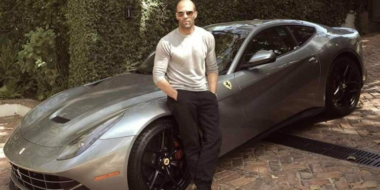Ferrari F12 Berlinetta with Jason Statham