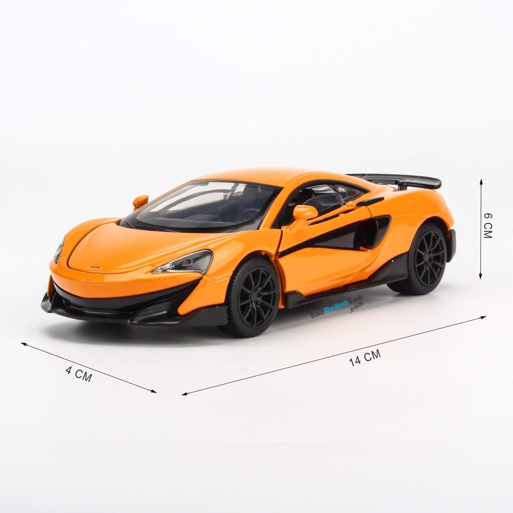 Mô hình xe McLaren 600LT Orange 1:32 Jackiekim