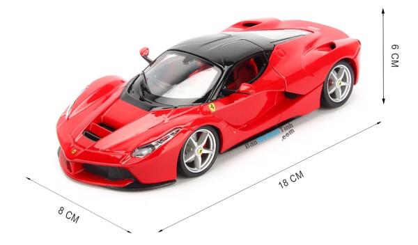 Mô hình xe Ferrari Laferrari Red 1:24 Bburago - MH18-26001
