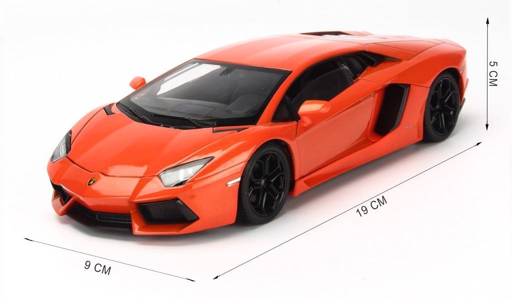Mô hình xe Lamborghini Aventador LP750-4 SV 1:24 Bburago Red