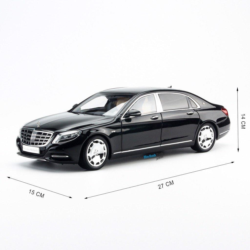 Mô hình xe Mercedes-Maybach S600 1:18 Almost Real